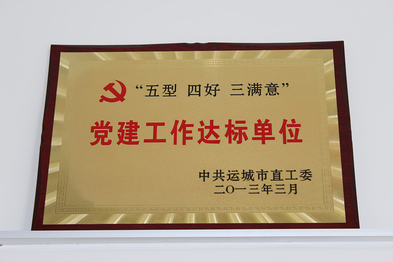 2012年党建工作达标单位